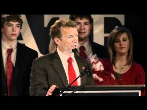 Rand Paul Claims Victory in KY Senate Race