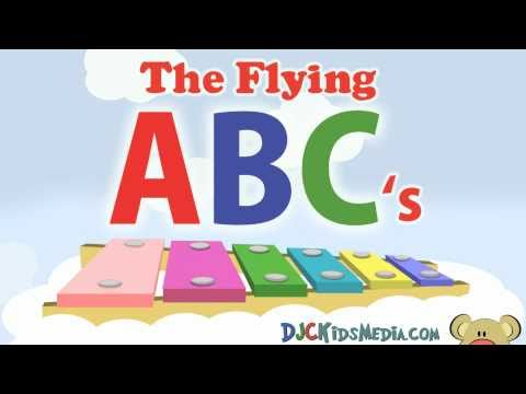 The Flying ABC's Alphabet Chant A to E