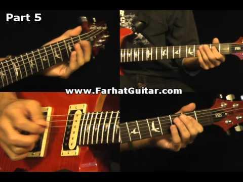 Roadhouse Blues - The Doors Guitar Cover Part 5 www.FarhatGuitar.com