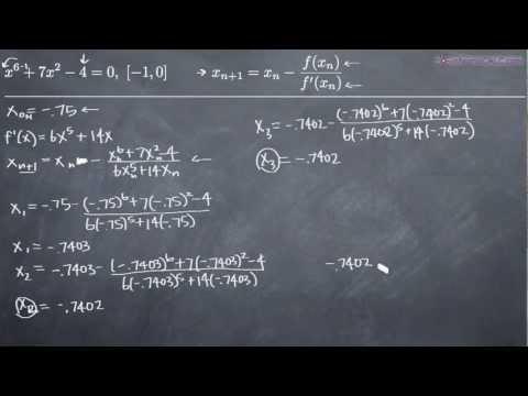 Newton's Method Example 2