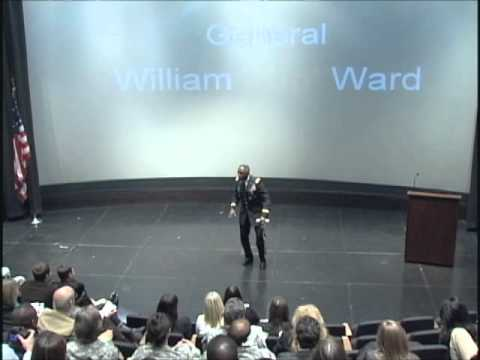 "TEDxPentagon - GEN William ""Kip"" Ward, USA - Footprints: The Legacy We Leave"