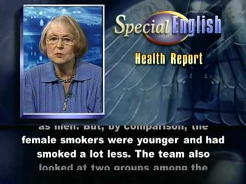 VOA Learning English - Health Report # 391