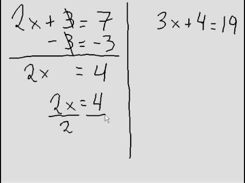 Simple Algebra - 2 more questions (two steps)