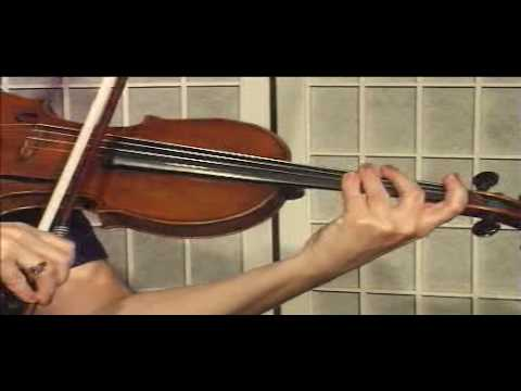 "Violin Lesson - Theory - How to play notes on the ""D"" String"
