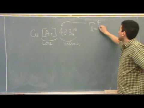 Quantum Numbers 1