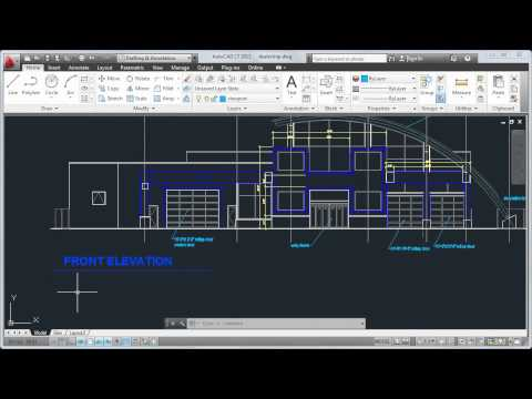 Tour the User Interface: AutoCAD LT 2013