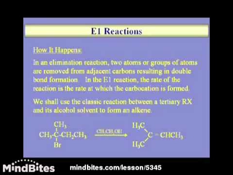 Organic Chemistry: Substitution vs Elimination 2
