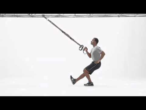 TRX® Weekly Exercise: TRX Squat Row (Single Arm/Leg)