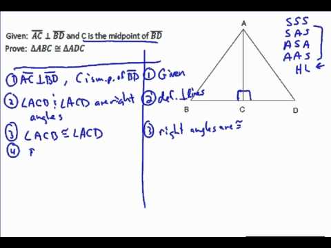 Triangle Proof Example 2