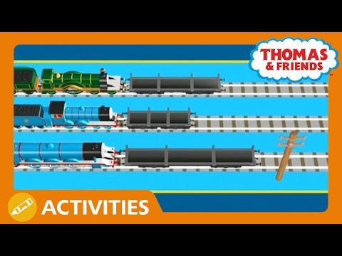 Thomas & Friends: Who Should Take the Telegraph Pole? Play Along