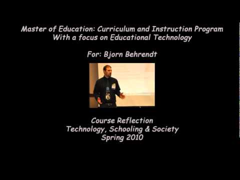 Technology, Schooling & Society