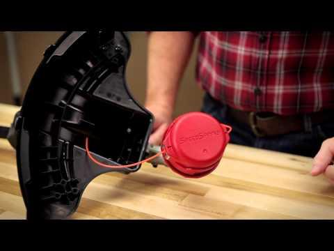 Troy-Bilt SpeedSpool 2 - How to Install New Line