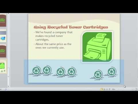 PowerPoint 2010: Arranging Objects