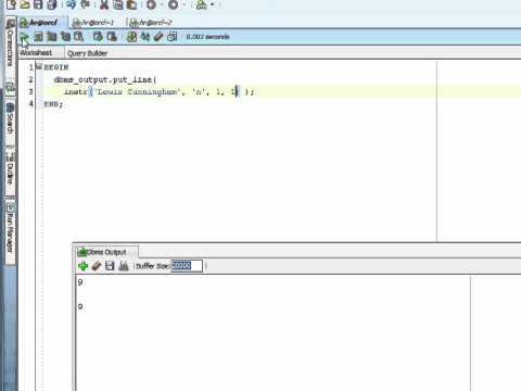 Oracle PL/SQL Tutorial -  Built-in Functions