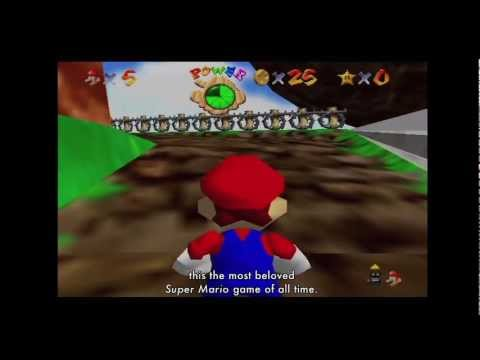 "The Art of Video Games: ""Super Mario 64"" Exhibition Video"