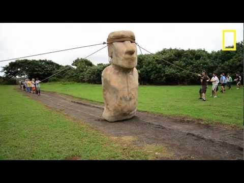 Scientists Make Easter Island Statue Walk