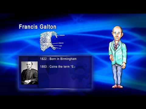 Top 100 Greatest Scientist in History For Kids(Preschool) - FRANCIS GALTON