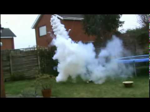 Smoke Bomb Gone Wrong! Red Bull Gave It Wings!