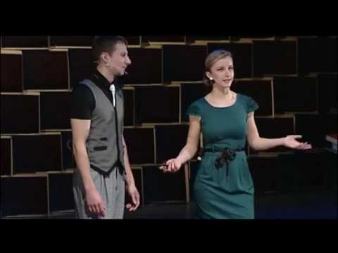 TEDxVilnius - Martynas Stonys and Egle Regelskis - A Couple Dance That Improves You