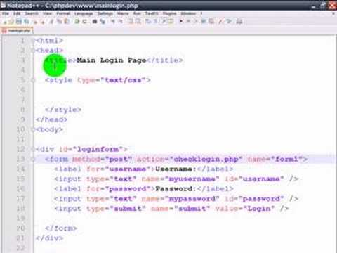 PHP Login - Step 2