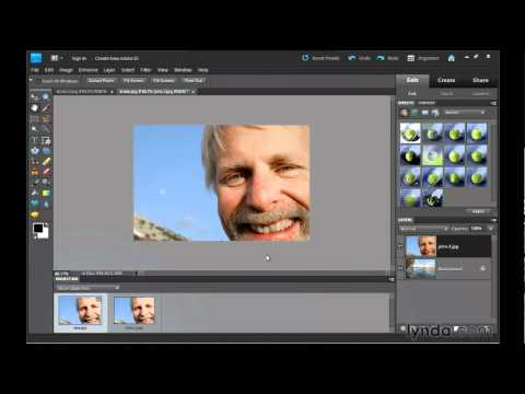 Photoshop Elements: Creating composite images | lynda.com tutorial