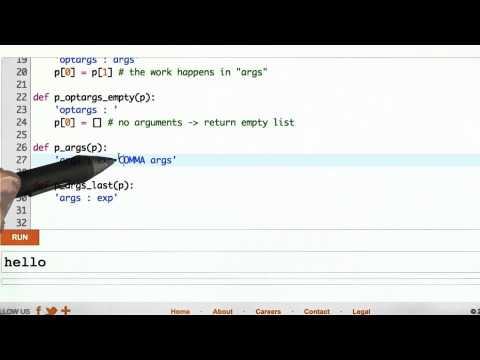 Optional Arguments Solution - CS262 Unit 4 - Udacity
