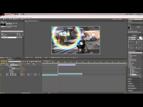 Rainbow Flare WITHOUT Optical Flares // AE Tutorial // by ByFrazzy