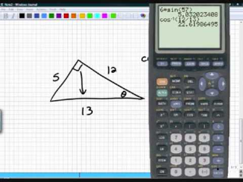 Precalculus Section 6.2 Part 1