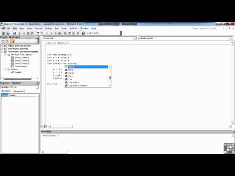 Visual Basic for Excel Tutorial | Declaring Variables and Data Types | InfiniteSkills