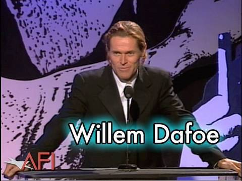 Willem Dafoe Salutes Martin Scorsese at the AFI Life Achievement Award