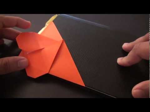 Origami Daily - 162: Bookmark Heart (Valentine's Day) TCGames [HD]