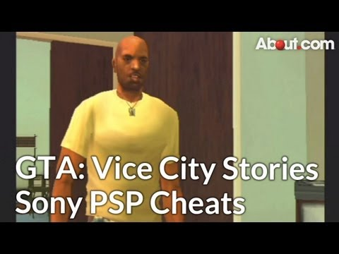 Sony PSP Cheat Codes for Grand Theft Auto: Vice City Stories