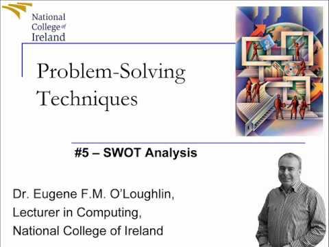 Problem Solving Techniques #5: SWOT Analysis