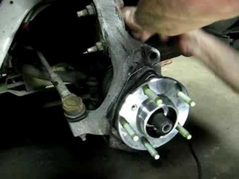 Replacing Front Wheel Bearing Impala,Grand Prix (part 2 of 2