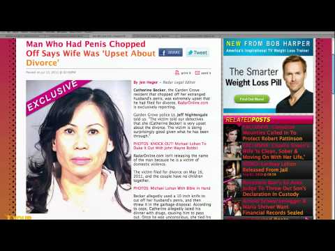 Woman Destroys Husband's Penis