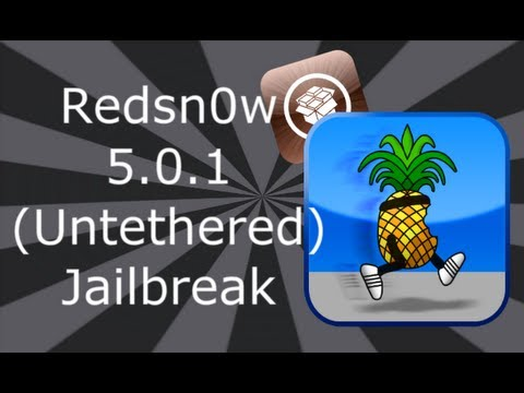 Redsn0w Jailbreak 5.0.1 (Untethered) For iPhone 4S, 4, 3GS, iPod Touch 3, 4, iPad 2 & 1