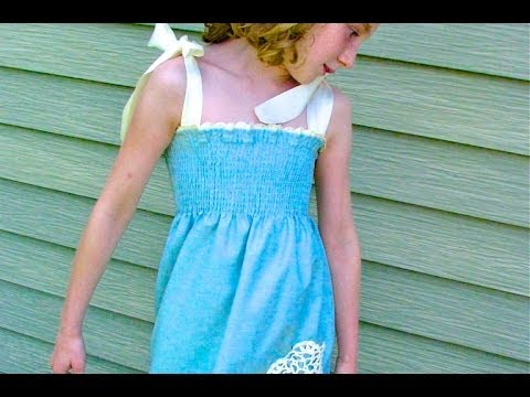 Raindrop Dress Sewing Tutorial