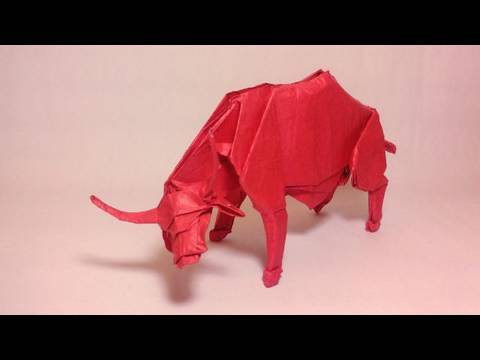 Origami Water Buffalo (Nguyen Hung Cuong) - not a tutorial