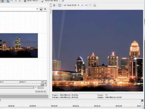 Sony Vegas Tutorial: Pan & Zoom Effects