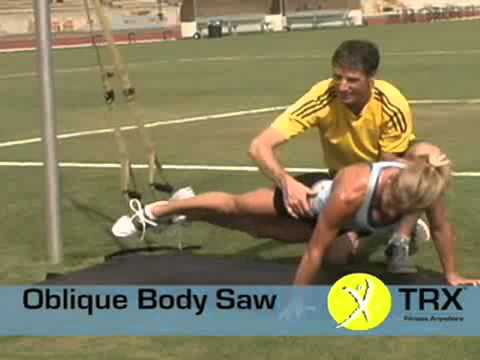 TRX® Exercises: The TRX Oblique Body Saw