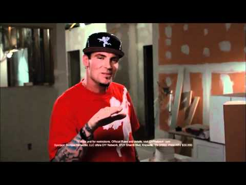 "Vanilla Ice - DIY Network's ""Ice My House"" Contest"