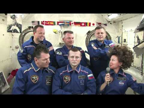 News Conference from Space Commemorates Space Flight Anniversaries
