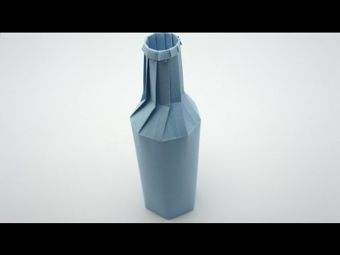 Origami Bottle - remake (Jo Nakashima)