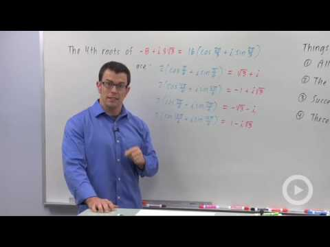 Precalculus - More Roots of Complex Numbers