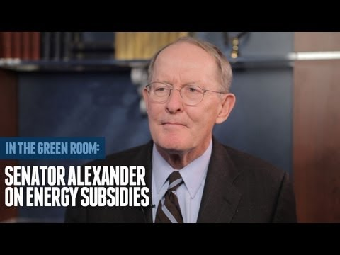 Senator Lamar Alexander On Ending Wasteful Energy Subsidies