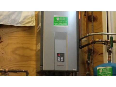 Plumbing How-To: How Does a Tankless Water Heater Work?
