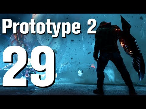 Prototype 2 Walkthrough Part 29 - The Descent [No Commentary / HD / Xbox 360]