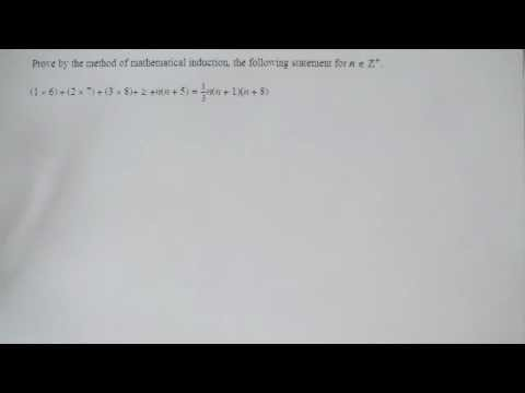 Proof by induction FP1 further pure mathematics
