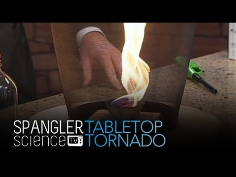Tabletop Tornado - Cool Science Experiment