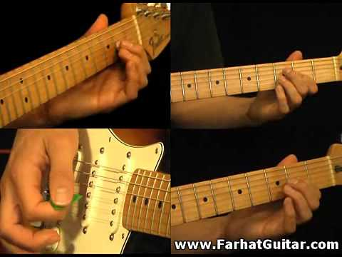 The unforgiven - Metallica Part 2-1 Guitar Cover FarhatGuitar.com